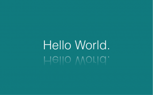 Hello World: Build a saleforce app in five minutes