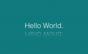 hello-world-background
